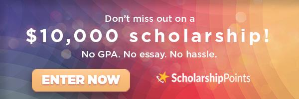 New ScholarshipPoints Ad Financial Aid News