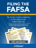Filing the FAFSA, 2015-2016 Edition (Cover)