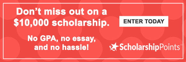 ScholarshipPoints FAN ad