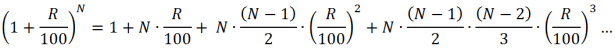 Exponentiation Expansion Equation 1